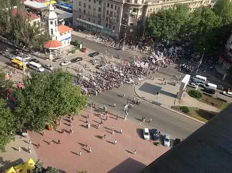 Опозиція пройшлась маршем у Миколаєві