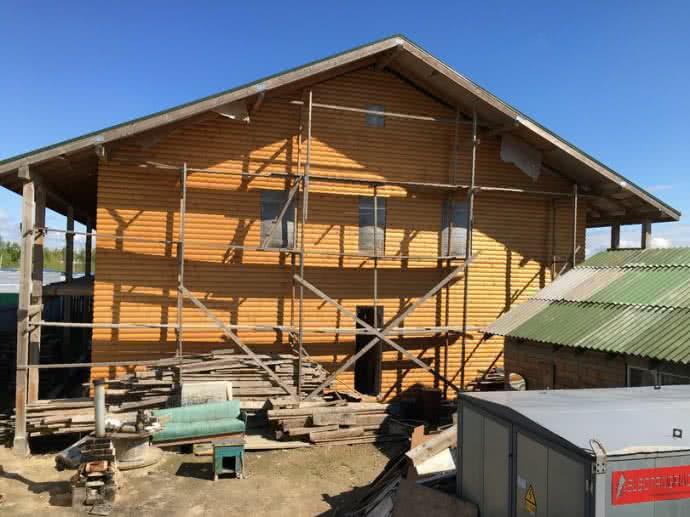 Будинок, який будує Корнієць. Фото: