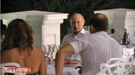 Путін в гостях у Медведчука в Криму, 2012 рік