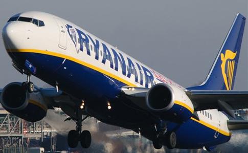 Ryanair виюне заходит вТурцию