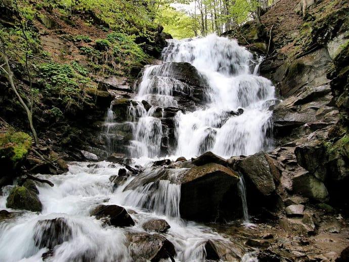 водоспад , Закарпаття, Карпати