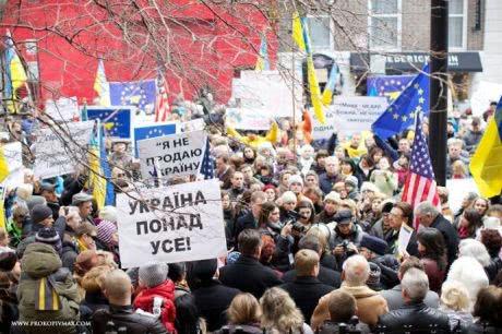 У США поддержали украинцев