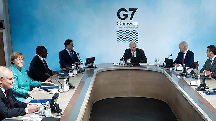 Лідери G7 проведуть зустріч через кризу в Афганістані