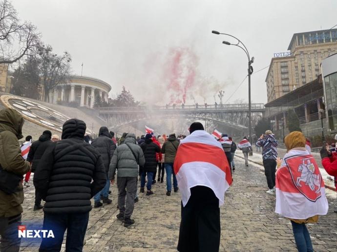 Люди вийшли на акції протесту проти режиму самопроголошного президента Білорусі Олександра Лукашенка / Nexta