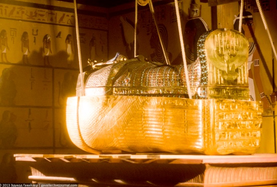 Труна Тутанхамона