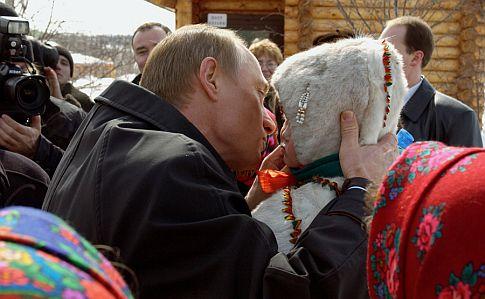 Путин занемается сексом