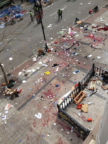 Вибухи у Бостоні. Є постраждалі. Фото: @brm90