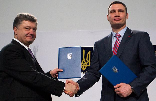 про що домовились Порошенко та Кличко у Відні?