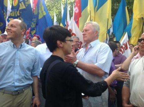 Парубій каже, що у Миколаєві зібралося 5 тисяч