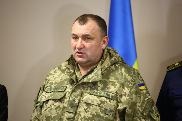 Заместитель министра обороны генерал-лейтенант Игорь Павловский