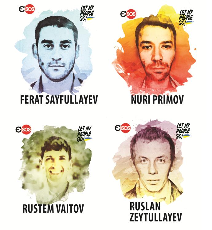 Затримані у 2015 році кримські татари за