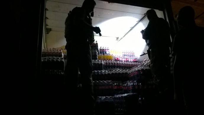 2015 рік. Мобільна група Родіона Шовкошитного затримала вантажівку з контрабандним товаром