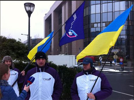 Медведчук устроил шоу для России в Брюсселе (видео)