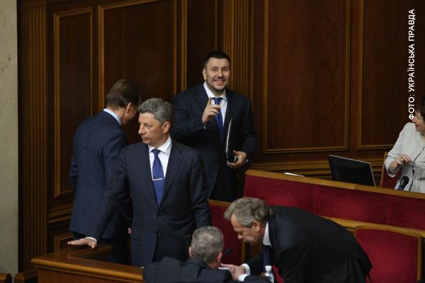 Министр Клименко сиял радостью