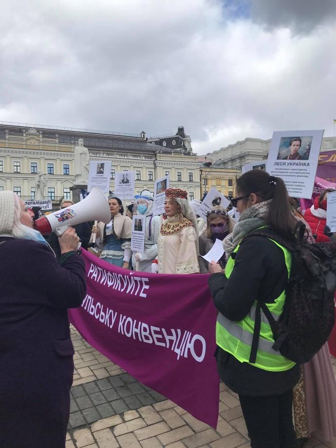 Як пройшов Марш жінок 8 березня у Києві?