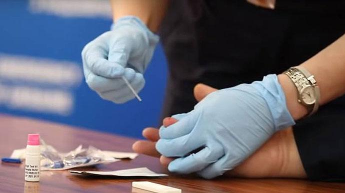 Рада поддержала обязательное массовое тестирование на коронавирус ...