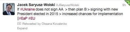 Европарламентарий: Если Янукович не подпишет Соглашение с ЕС, его подпишет другой президент