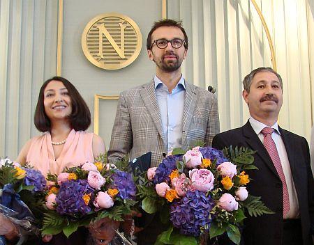Сергію Лещенку було вручено премію в Осло