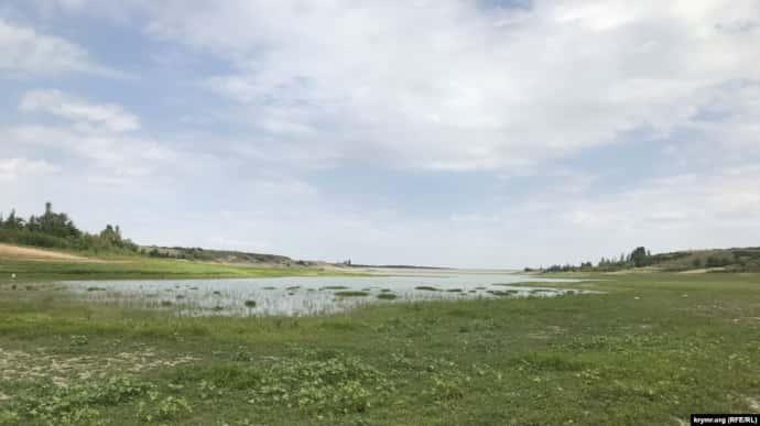 Білогірське водосховище, 18 липня 2020 року