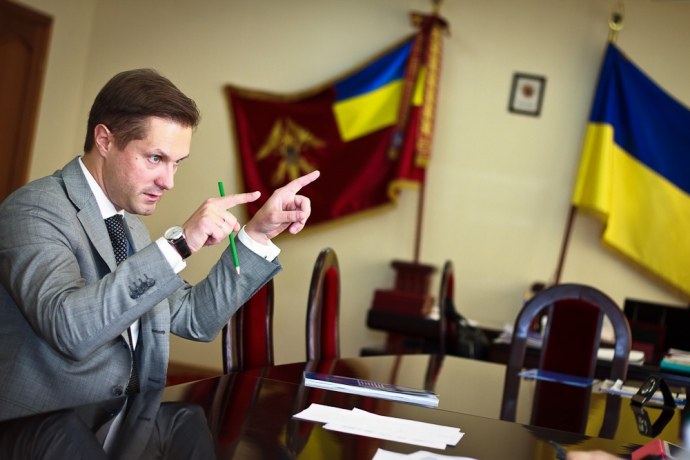 Глава АМКУ Юрий Терентьев