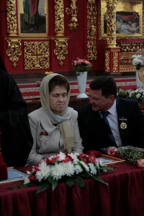 Церква нагородила дружину президента Януковича