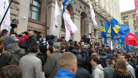 Депутаты пошли на штурм Киевсовета