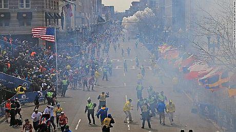 Взрывы в Бостоне