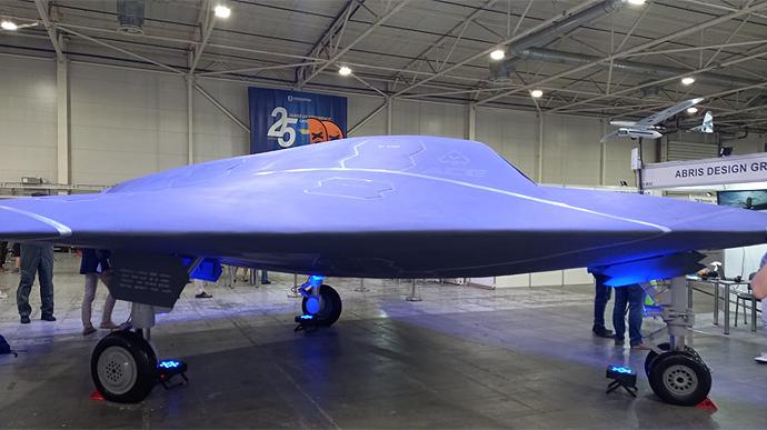 ВКиеве презентовали сверхбыстрый боевой дрон, невидимый для радаров
