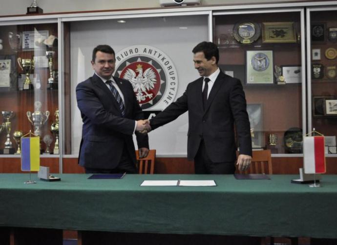 Артем Сытник с польским коллегой