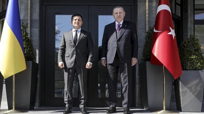 Путин позвонил Эрдогану перед визитом Зеленского