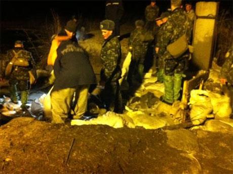 В Бортничах прорвало дамбу. Фото Комсомольської правди в Україні