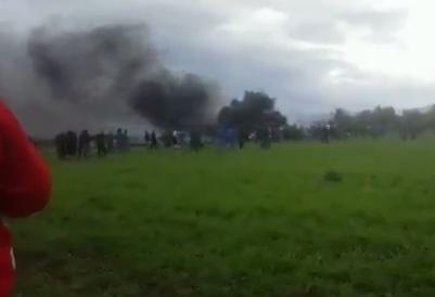 В Африке разбился построенный в РФ военный самолет, погибли сотни людей