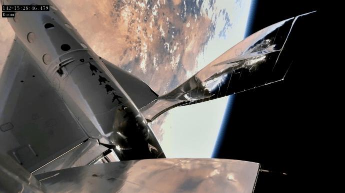 Зореліт Virgin Galactic успішно вилетів у космос
