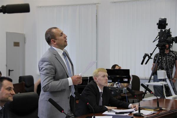 Представник Генеральної прокуратури Олег Пушкар