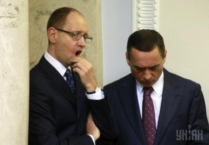 Микола Мартиненко залишається одним з найближчих соратників Арсенія Яценюка