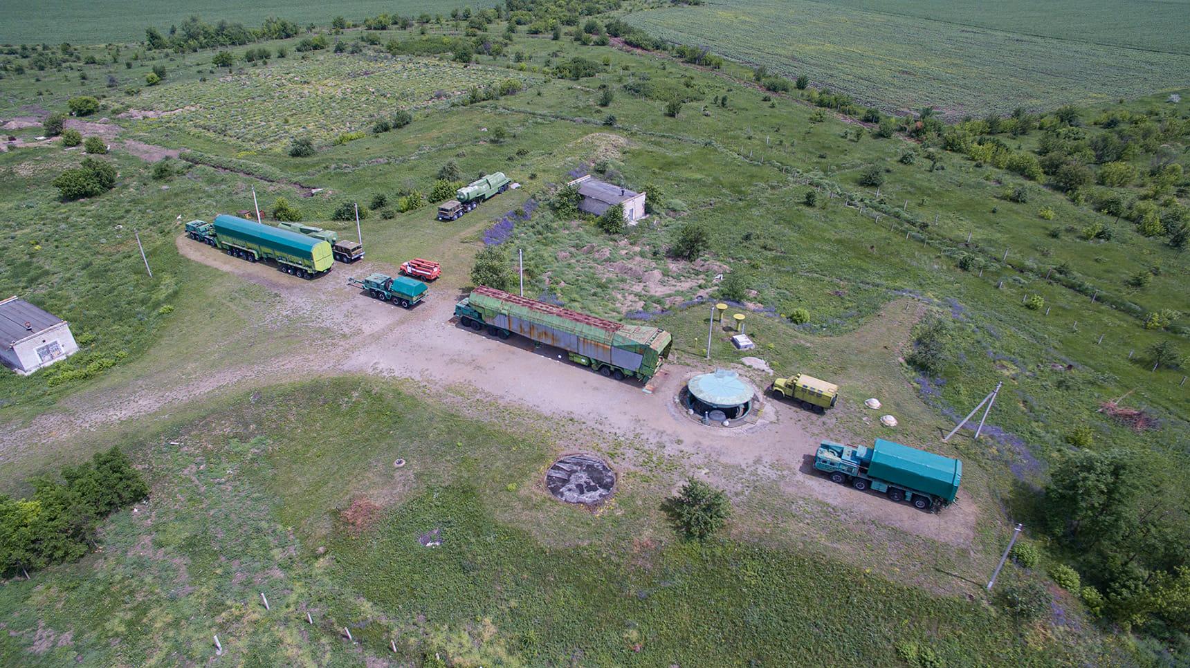 На территории Украины раньше было восемь ракетных дивизий