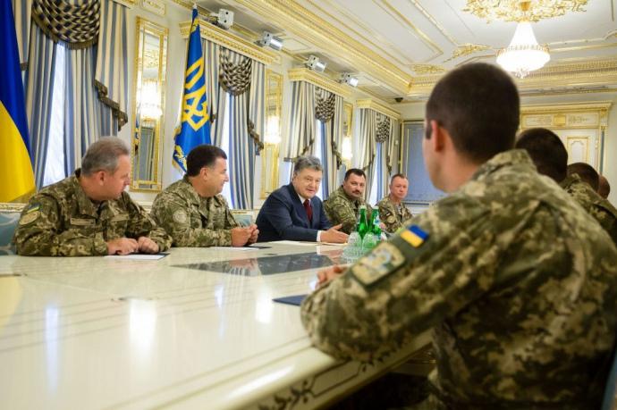 Порошенко подписал закон о Силах специальных операций ВСУ