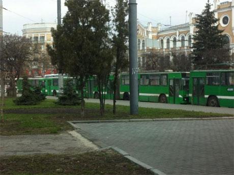 Троллейбусы в Харькове фото с Facebbok Дмитрий Чигрин