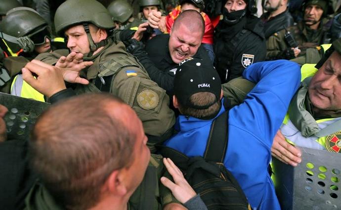 Митинг за большую политическую реформу. Столкновения и первые палатки  (ОНЛАЙН) a0e12c23e23cd