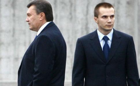 З рахунків фірм Януковича-молодшого зняли арешт