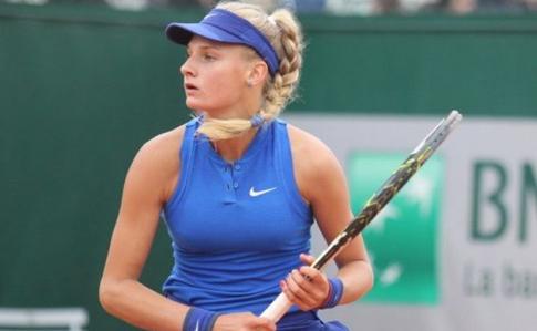 Українська тенісистка здолала росіянку натурнірі ITF уРимі