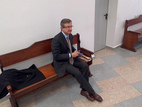 Сергій Тарута у суді у справі Щербаня