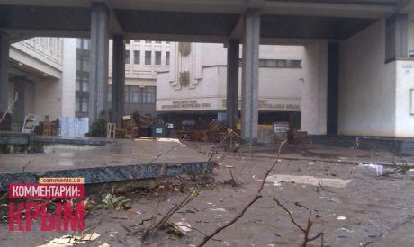 Крымский парламент захватили