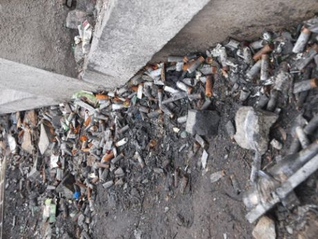 На Грушевского на месте силовиков нашли гильзы к патронам 12 калибра