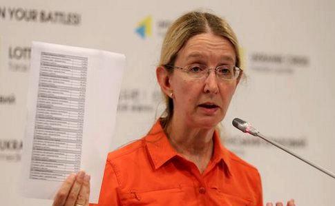 Комітет Верховної Ради рекомендує звільнити Супрун