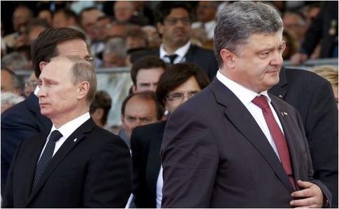 """Порошенко зателефонував Путіну з нагоди річниці """"Мінська"""" - ЗМІ"""