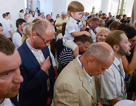 Освячення собору УГКЦ. Фото прес-служби Батьківщини
