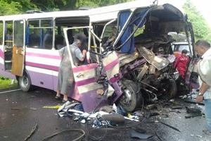 ДТП на Волині. У автобусі їхали 40 дітей