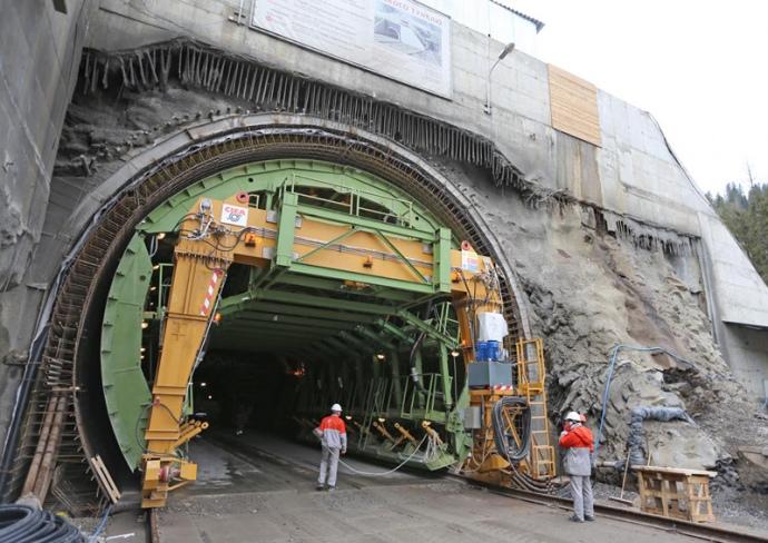 Відкриття Бескидського тунелю за участі Петра Порошенка (НАЖИВО)
