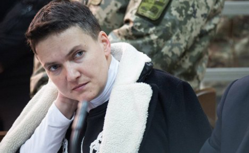 50 дней голодовки: как Савченко поздравили сднем рождения